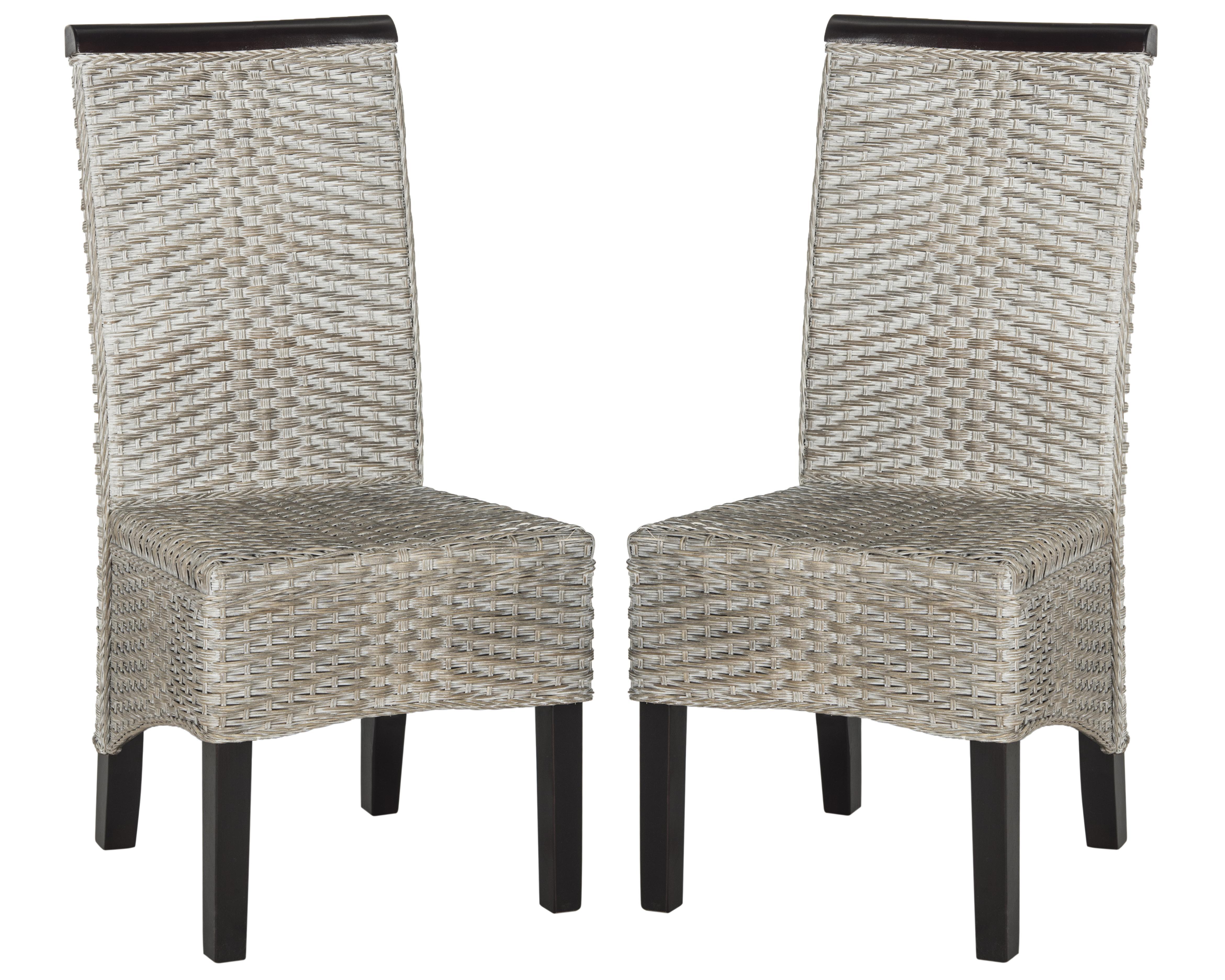 safavieh karna dining chair modern sofa ilya wicker ebay