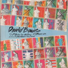 Ashes To Ashes - Single Cover Reverse - David Bowie - 1980