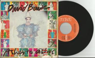 Ashes To Ashes - Single Cover With Record - David Bowie - 1980