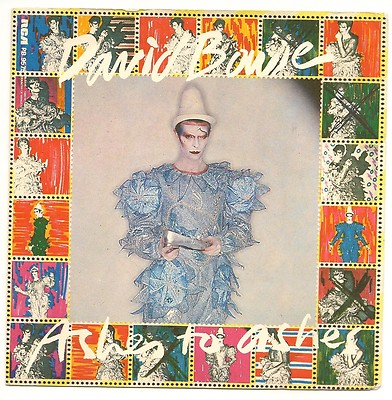 Ashes To Ashes - Single Cover - David Bowie - 1980