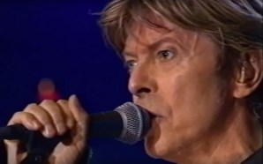 David Bowie perform Low at the Meltdown Festival in 2002