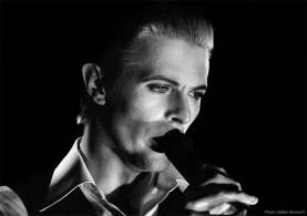 David Bowie photographed by Stefan Almers in 1976 - Black & White Thin White Duke © Stefan Almers