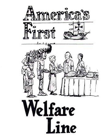 why are there so many white people on welfare in North