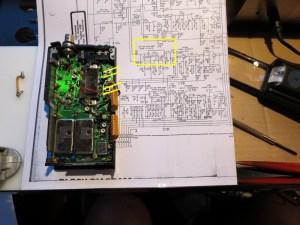 Standard C500 Reparatur 2m-RF-Modul