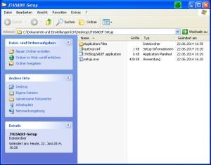 Setup-Dateien JT65 Konverter