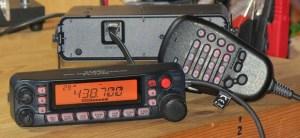 Yaesu FT-7900 abgenommenes Bedienteil