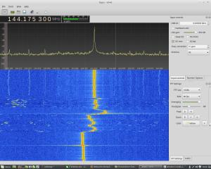 Spektrum 144 MHz Beeinflussungen