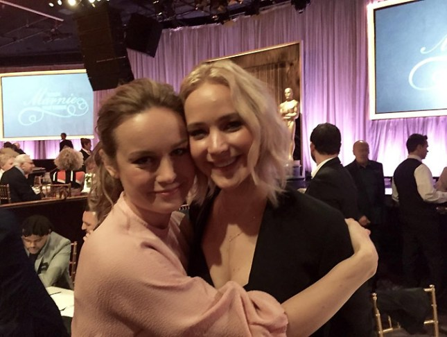 Brie Larson-Jennifer Lawrence