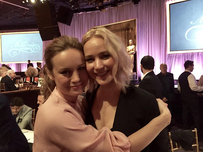 Brie Larson-Jennifer Lawrence