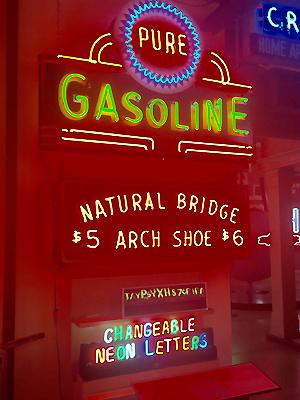 Pure Gasoline vintage memorabilia