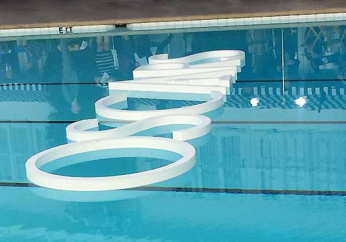 Oscar Sign in Bev Hills Pool