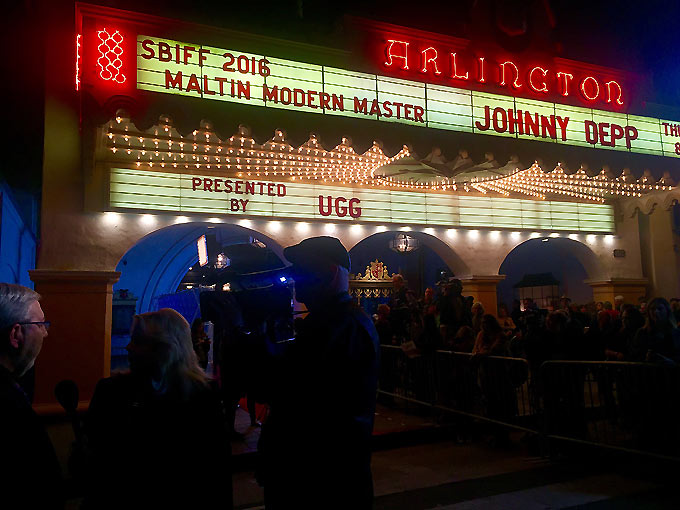 Maltin Movie Masters Arlington Marquee