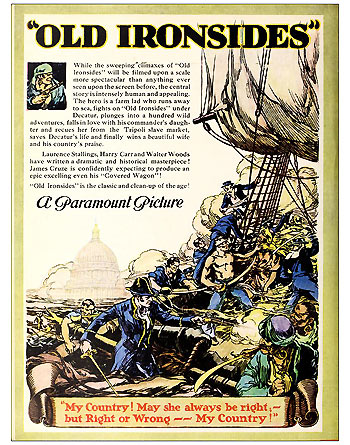 Old Ironsides-News Release Ad
