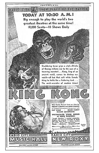 Radio City Music Hall-King Kong