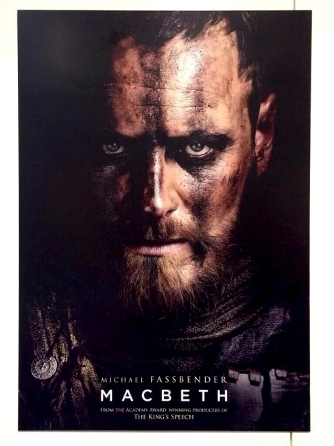 Image result for macbeth movie 2015 poster
