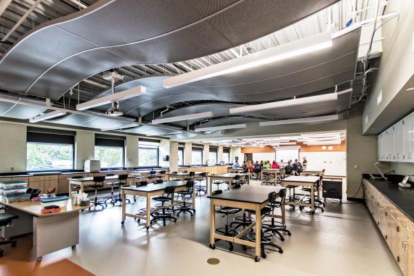 Dla Architects Shepard High School Science Classroom