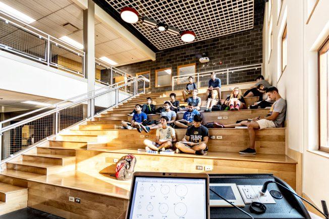 Architecture Design For Virtual Classroom ~ Dla architects classroom design boosts peer learning