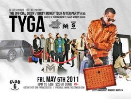 PDiddy After Party - Tyga, DLabrie, Bleev Promo, DS Events,