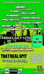 FRI 7/12 in Santa Cruz - DLabrie, YDMC , Madman, Cypher squad and more (Grind and Relax Tour)