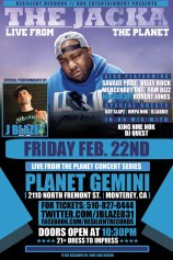 2/22 in Monterey,CA- DLabrie special Guest at Jacka show
