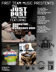 Jan 24-27 DLabrie Just Bust Tour (Atlanta,Florida,Carolinas,West VA)