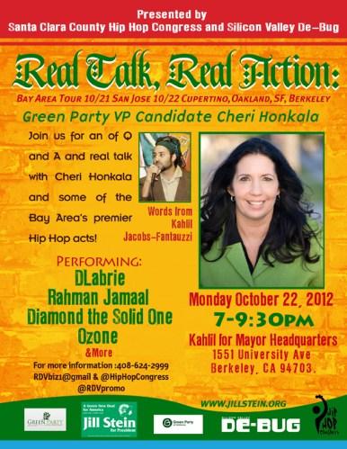 Monday, October 22nd in Berkeley,CA (7-9:30pm)