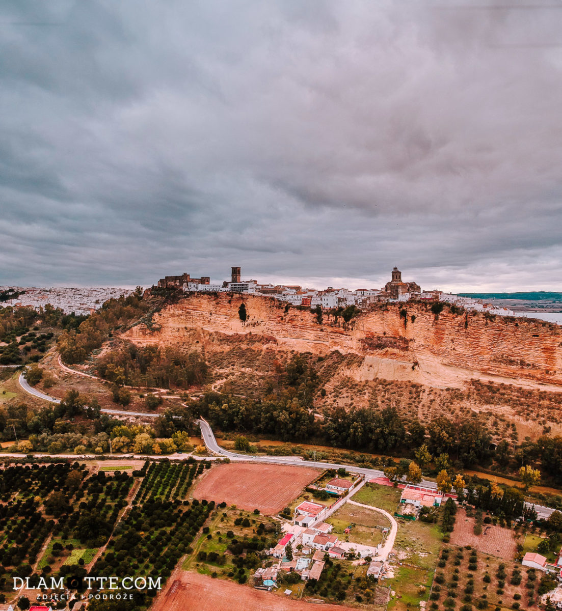 panorama Arcos de la Frontera Andaluzja