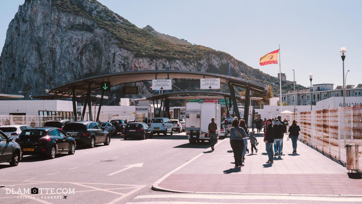 przejście graniczne Gibraltar Andaluzja