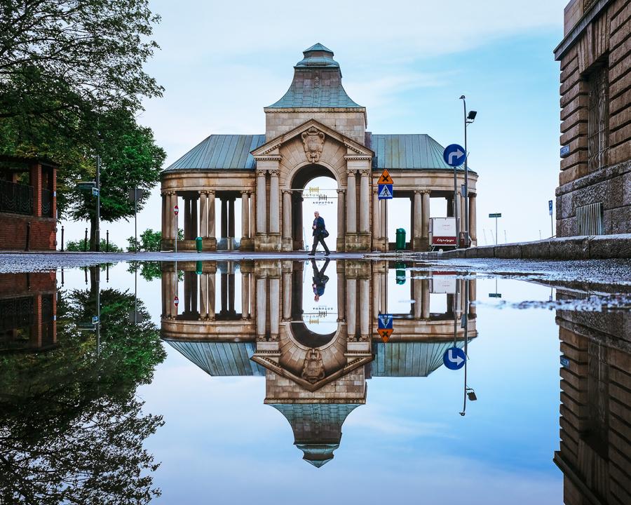 Wały Chrobrego w Szczecinie Rotunda