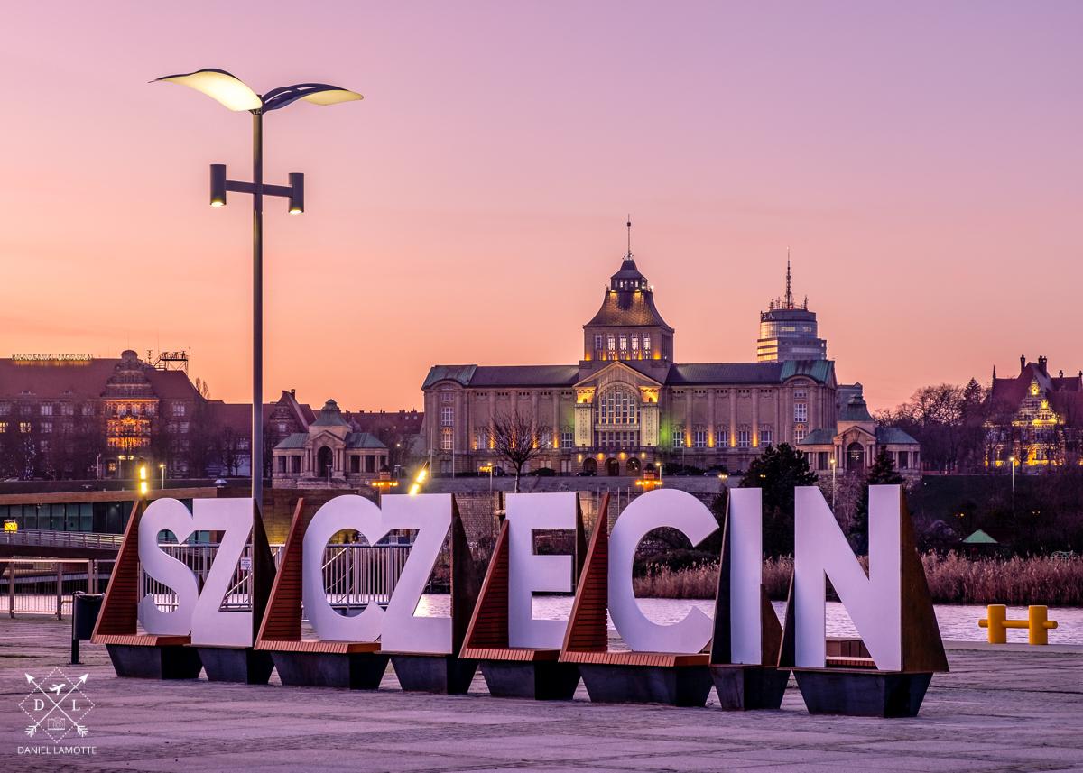 plakat fotograficzny Szczecin