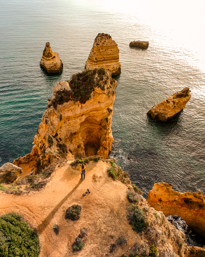 Lagos viewpoint Algarve
