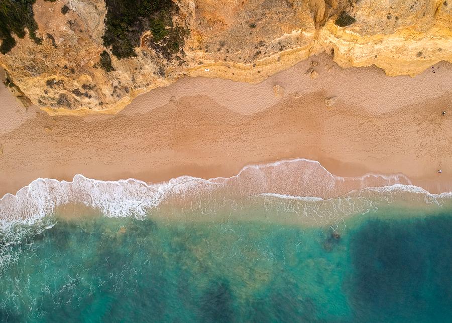Algarve beach praia dos caneiros