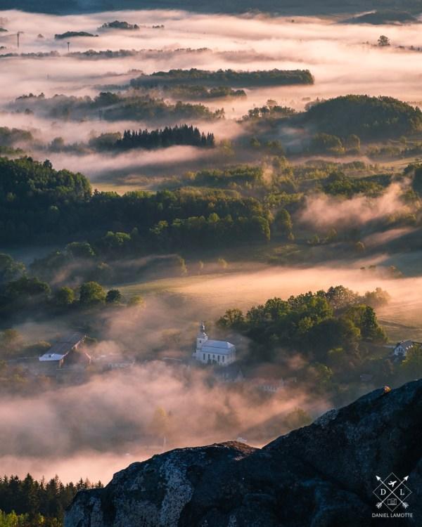 plakat fotograficzny góry Rudawy Janowickie Trzcińsko