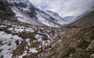Glacier Paloma just a few miles ahead