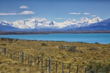 A stunning view from the highway. The Andes just don't quit.