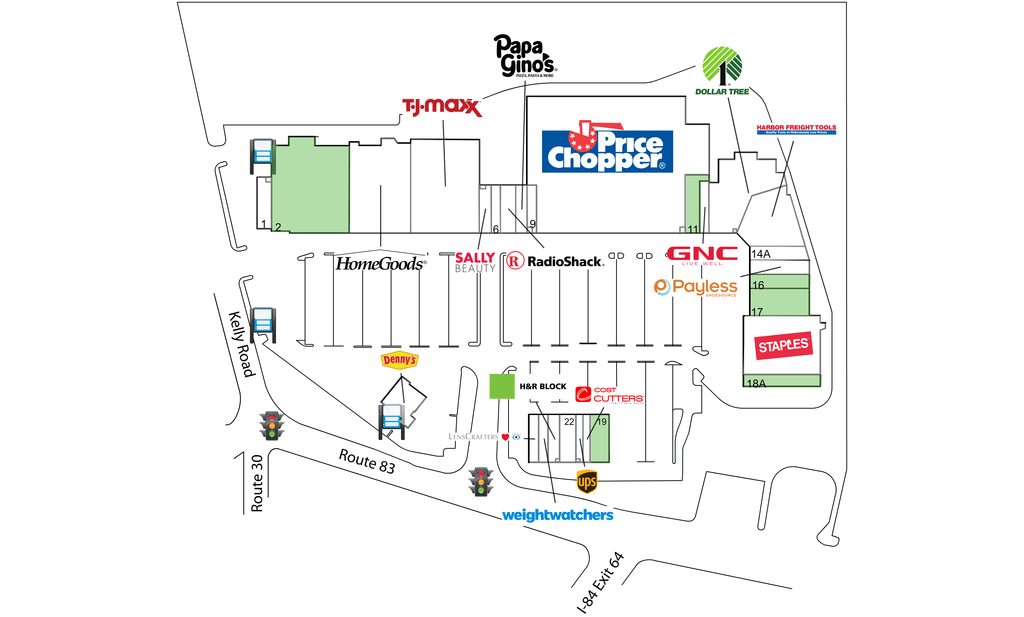 Vernon Ct Tricity Plaza  Retail Space For Lease  Dlc