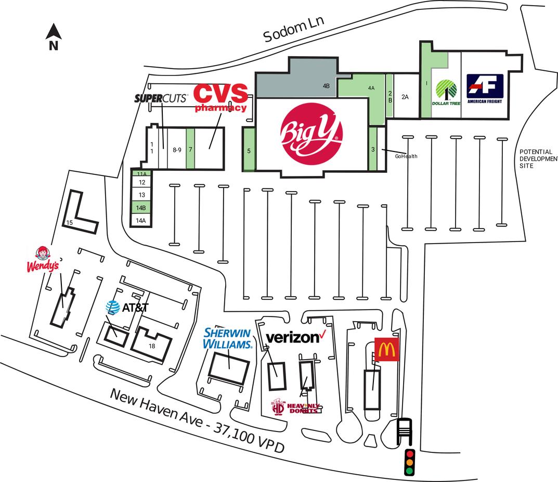 Derby Ct Walmart Plaza  Derby  Retail Space For Lease  Dlc