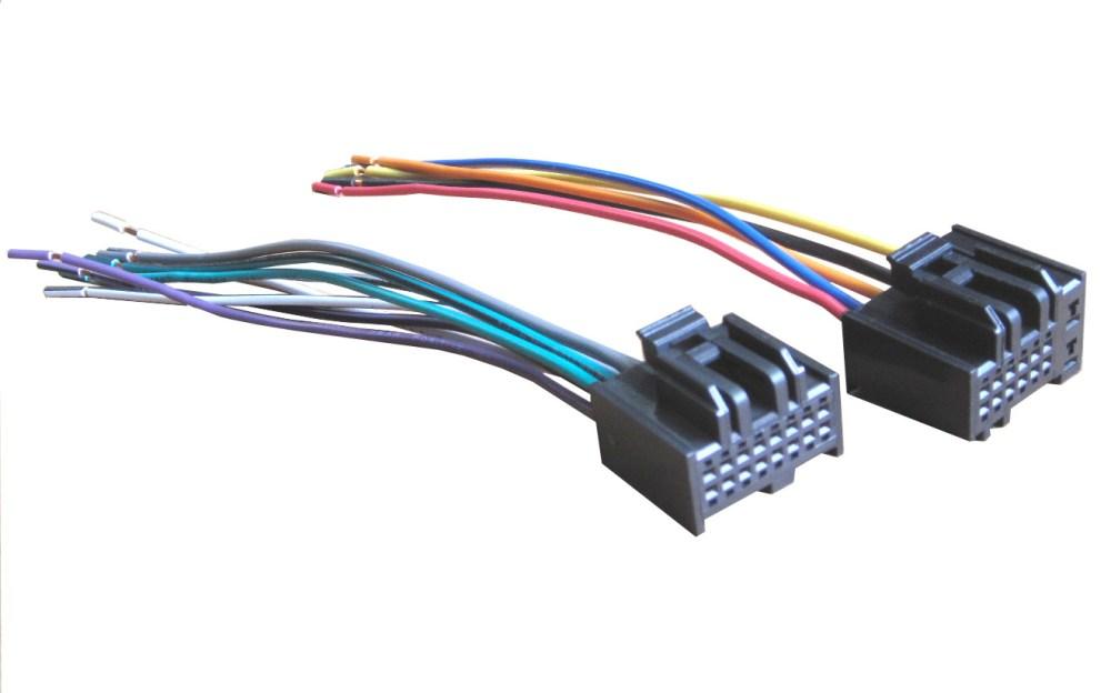 medium resolution of mobilistics 2007 2009 hyundai kia oem radio wiring harness wh447