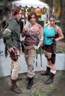 Wondercon 2018 Classic & Modern Game Lara Croft Tomb Raider
