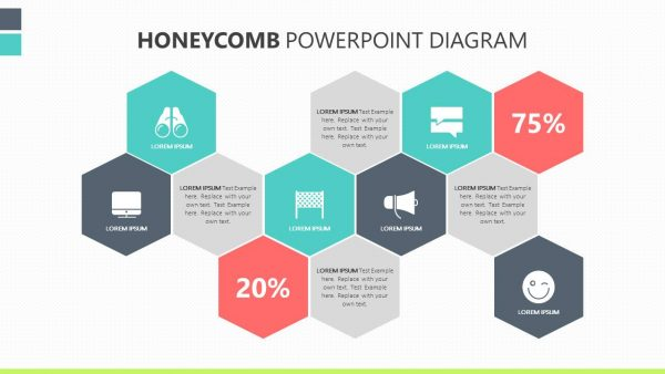 How To Make A Honeycomb Diagram In Powerpoint