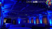 Winter Wonderland Venue Lighting - David Lee Events
