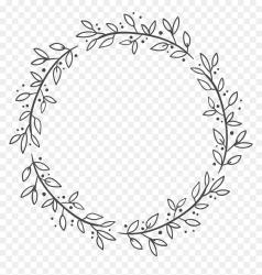Box Flower Leaf Wreath Decoration Euclidean Vector Clipart Leaf Circle Border HD Png Download 3029x3040 PNG DLF PT