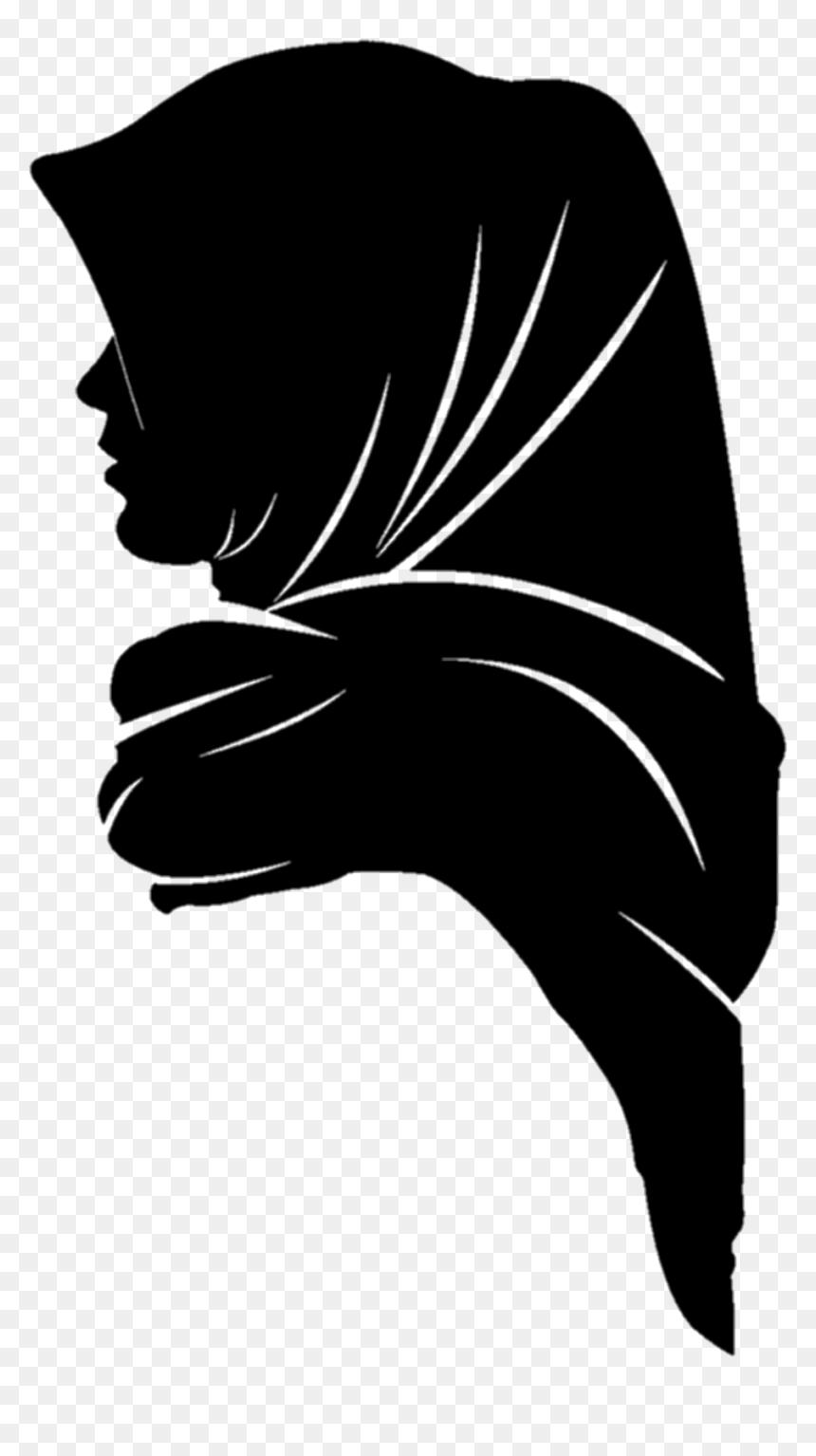 Wanita Berhijab Png : wanita, berhijab, Muslim, Gambar, Siluet, Wanita, Berhijab,, Transparent, 1024x1229, DLF.PT