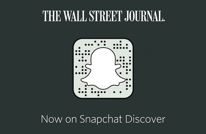 Wall Street Journal - Snapchat