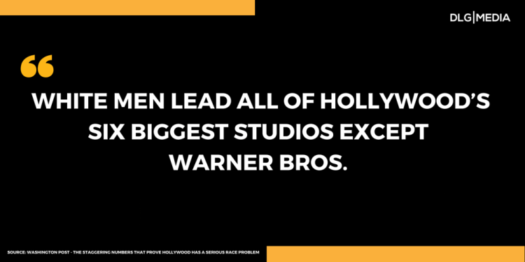 LACK OF DIVERSITY IN HOLLYWOOD