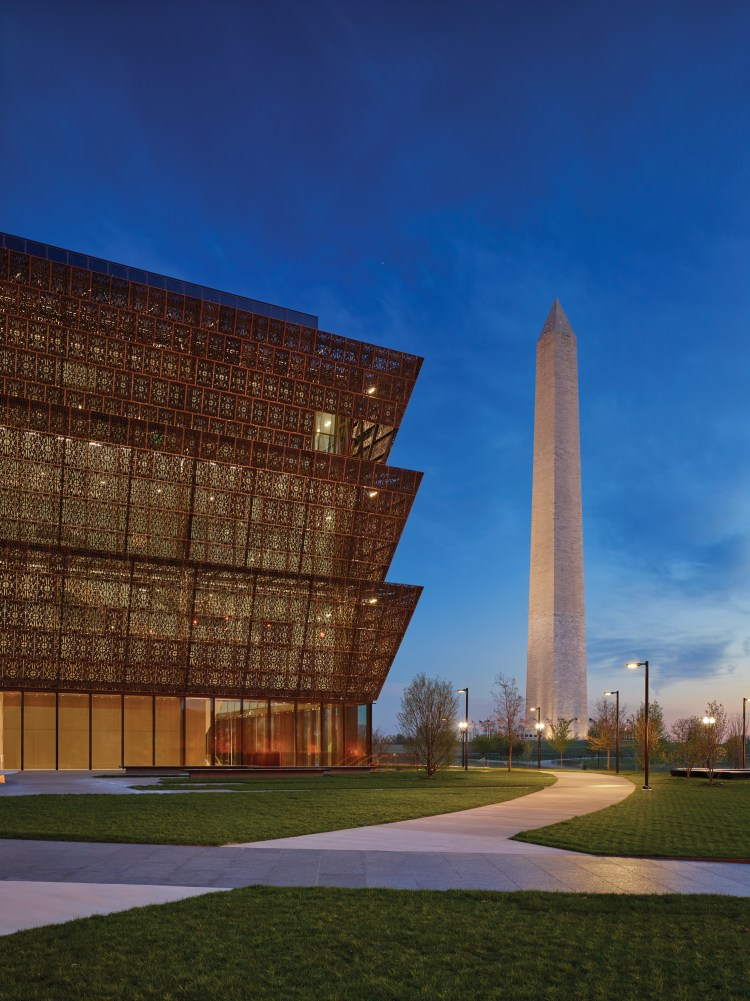 Smithsonian Institution, National Museum of African American History and Culture Architectural Photography, credit lan Karchmer/NMAAHC