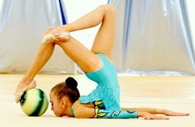 Miach dlia khudozhestvennoi gimnastiki 3