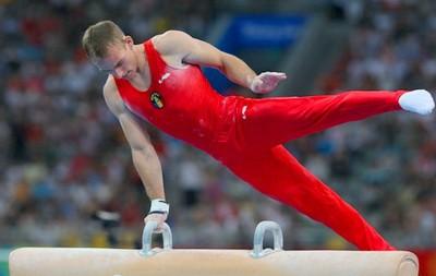 Uprazhneniia perekhody na gimnasticheskom kone