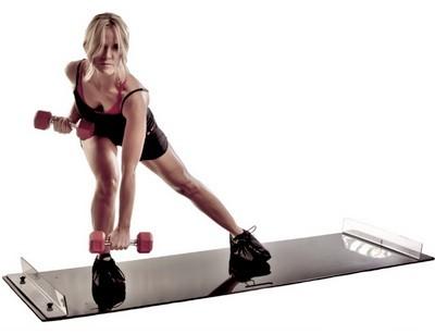 Слайд аэробика. Базовые упражнения и занятия. Кому подходит