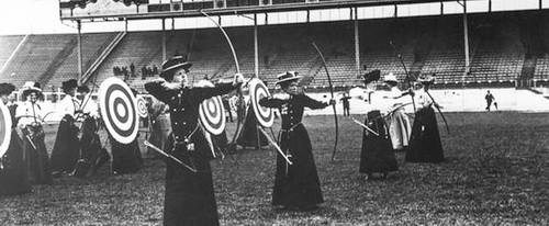 Pervaia zhenskaia - Olimpiada v 1904g